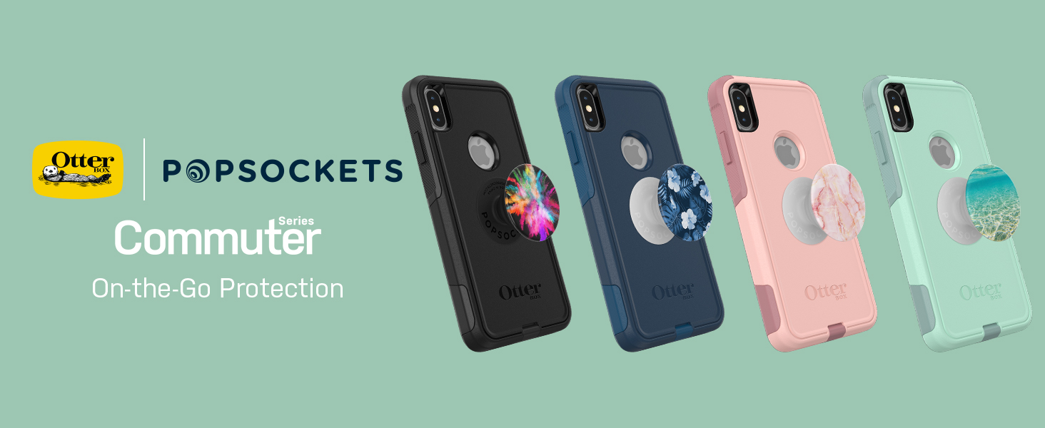 more photos 1210a c9f6d Amazon.com: OtterBox Commuter Series Case for iPhone Xs Max – (Blue ...