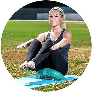 strong core balance stick disc fitness pad sports