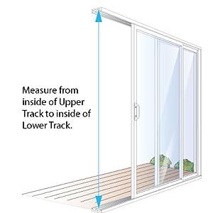 how to measure your patio door