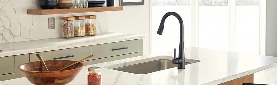 moen sleek kitchen faucet