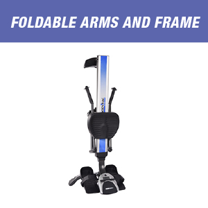 foldable arms and rame