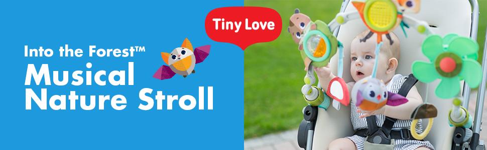 Tiny Love, Arcos de actividades, colección Into the Forest, Musical Nature Stroll, módulo 1