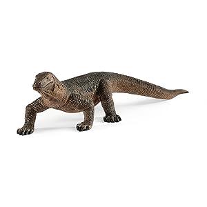 komodo dragon, komodo dragon figurine, schleich animal figurine, schleich animals, animal figurine,