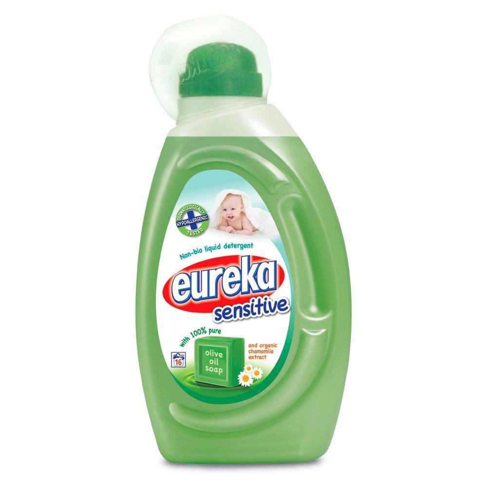 Eureka Sensitive Non Bio Liquid Detergent With Olive Oil