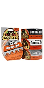 Gorila Tape Small Roll Variety Pack