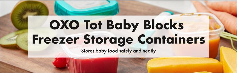 OXO Tot Baby Blocks 4 oz
