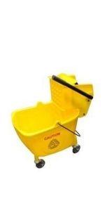 Quart Mop Bucket with Wringer