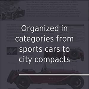 The Car book visual guide of the greatest engineered vehicles throughout history