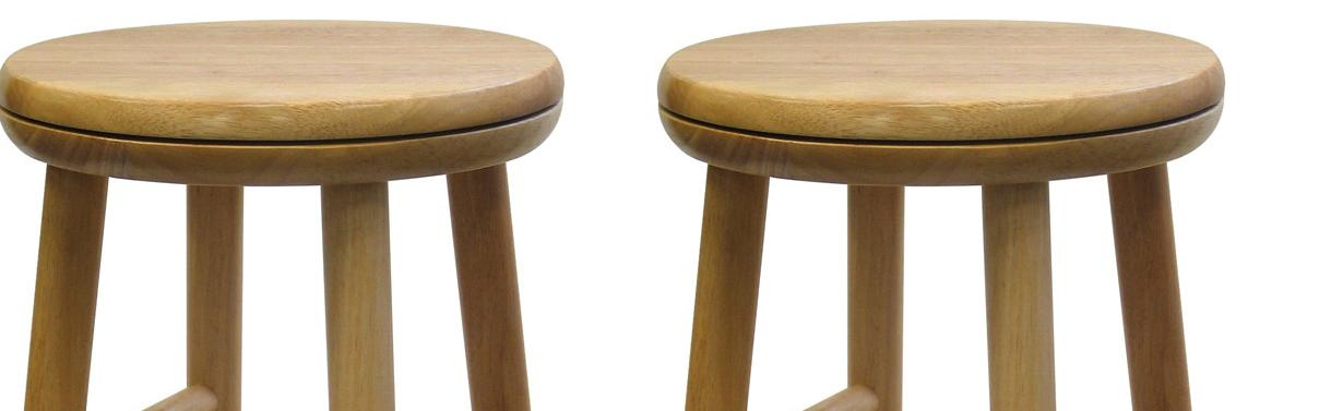Amazon Com Winsome Wood 24 Inch Swivel Seat Barstool With