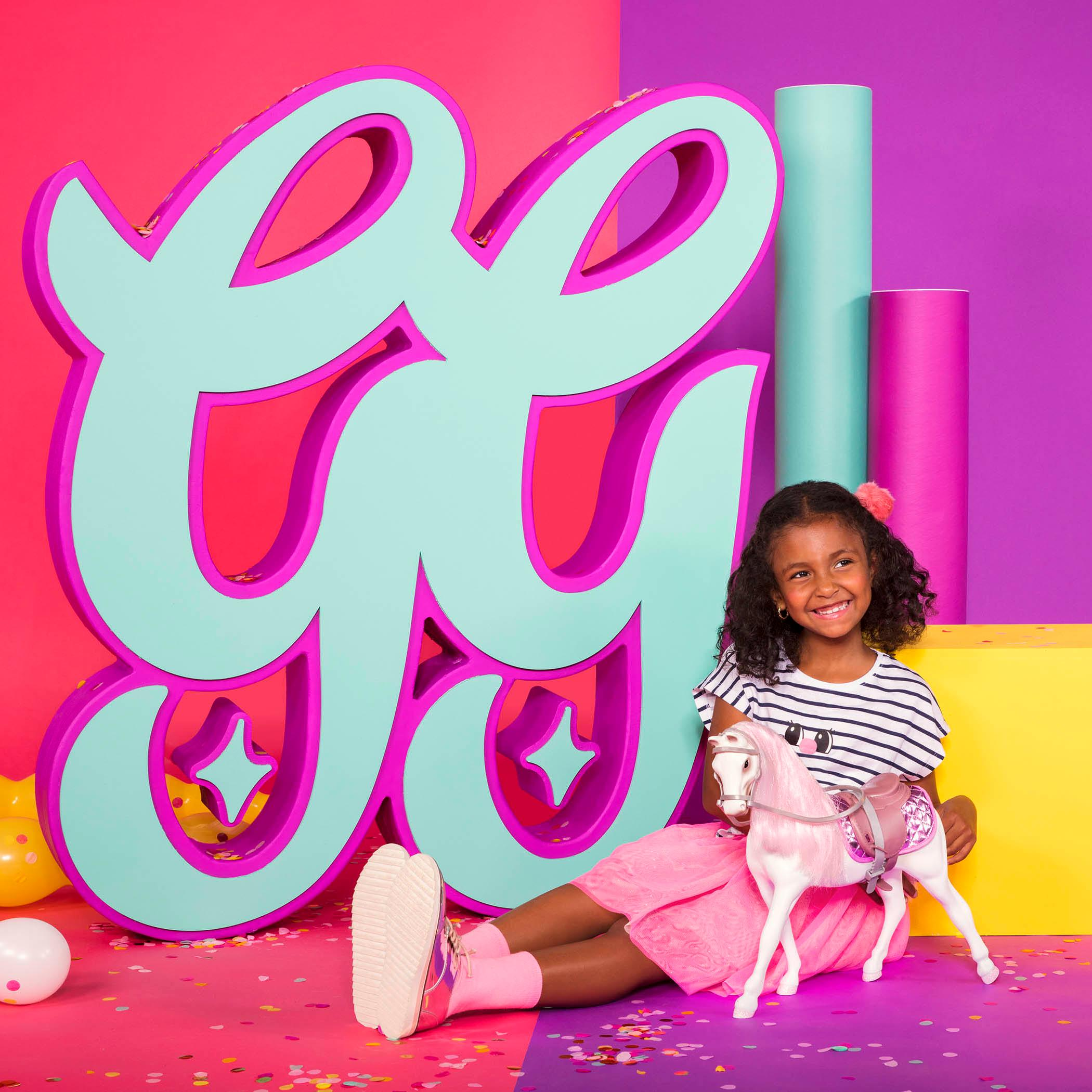 51b172a32 Amazon.com  Glitter Girls by Battat – Sweet Dazzle Tutu   Sweater ...