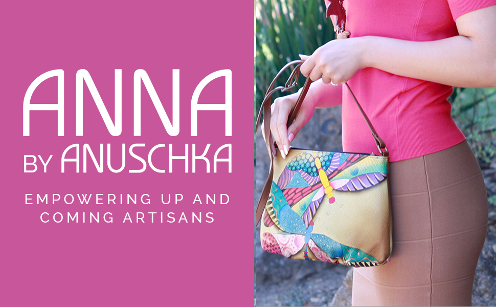 Anna by Anuschka handpainted bags and wallets