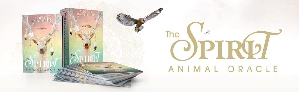 animal oracle cards spirit tarot deck spirituality self-help angels healing divination inspirational
