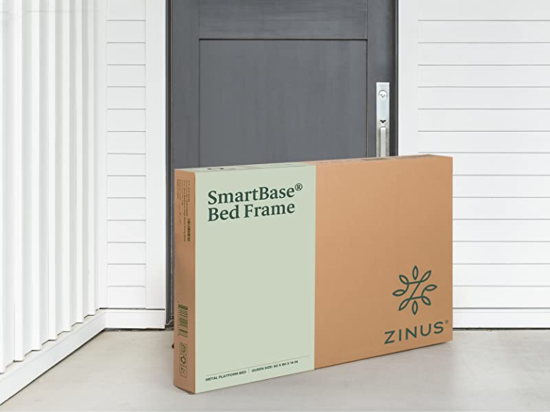 Amazon Com Zinus Shawn 14 Inch Smartbase Mattress