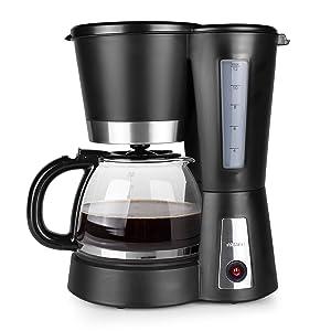 Tristar CM-1236 Cafetera Eléctrica, 900 W, 1.2 litros, Negro ...