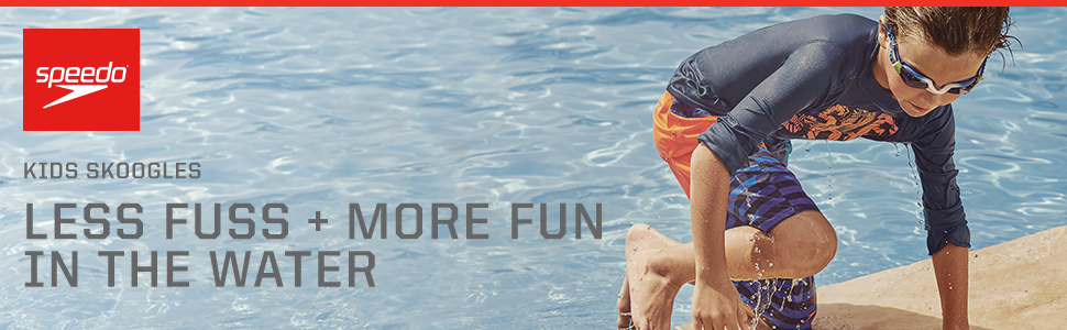 Ages 3 to 6 Speedo Kids Skoogles Recreation Swim Goggle Blue Oceans