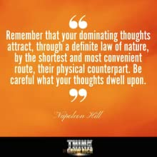 law of attraction, think, thinking, thoughts