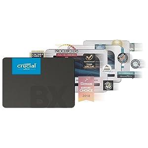 Crucial BX500 CT240BX500SSD1(Z) Disco Duro Sólido Interno SSD de ...