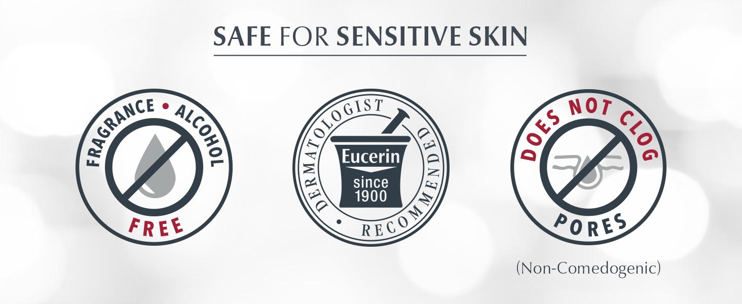 sensitive skin, fragrance free, alcohol free, non-comedogenic, skin cream, cream, creams, skin