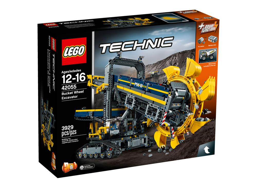 lego technic bucket wheel excavator 42055 construction toy toys games. Black Bedroom Furniture Sets. Home Design Ideas