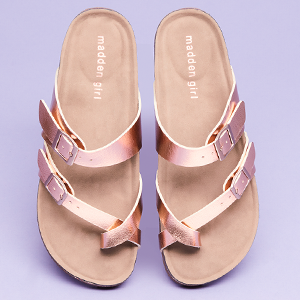 a6b6350d4015e Madden Girl shoes take their inspiration from sister brand Steve Madden.  On-trend while being affordable for the young fashionista.