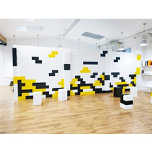 everblock walls, modular walls, temporary wall, room dividers, partition, building blocks