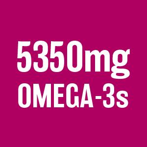 5350 mg omega 3's omega-3's chia seeds