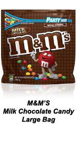 Throw the best party with this Part Size bag of M&M'S Chocolate Candy.