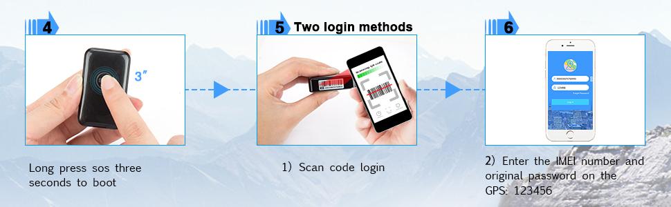CaGuan Mini Portable Magnet GPS Tracker (no Subscription fee