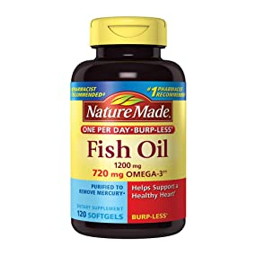 Nature Made One Per Day Burpless Fish Oil