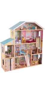 KidKraft Majestic Mansion, KidKraft Wooden Dolls House, Wooden Dolls House