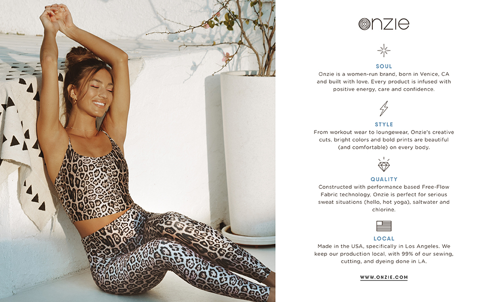 Onzie, Leopard, About Us
