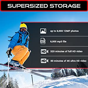 Supersized Storage Specs