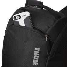 phone pocket, soft lined pocket, valuables pocket, phone storage, quick access pocket, Thule backpac