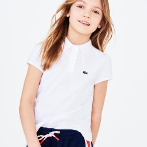 Lacoste kids polo shirt; girls polo shirt; kids polo shirt