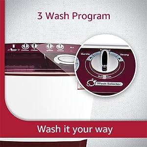 3 wash