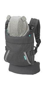 Amazon Com Infantino Zip Travel Carrier Black Baby