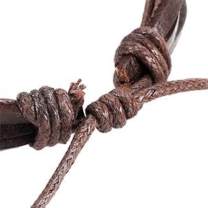 29 Piezas Cuero Pulseras Árbol de la Vida para Hombres Mujer Trenzado Pulsera Cuentas de Madera Cuerda Brazalet Vintage Pulsera Ajustable (joyería)