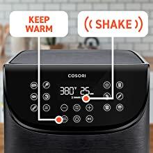 Shake & Keep Warm Functions