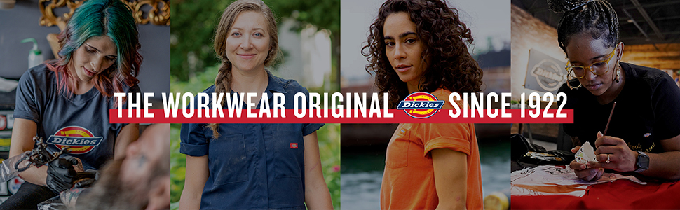 dickies workwear women bib overalls coveralls pants shirts work craft twill jeans canvas duck