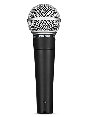 Amazon Com Shure Sm58 Lc Cardioid Dynamic Vocal Microphone Musical Instruments
