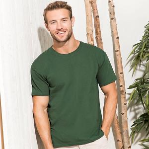 T-shirt ragazzo Fruit of the Loom Collo a U