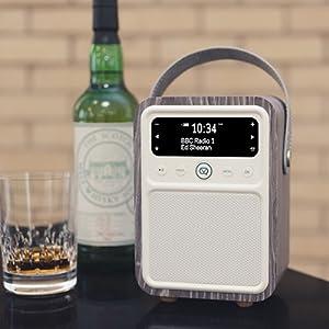 DAB Radio, FM Radio, AM Radio, Monty Radio, VQ, Bluetooth speaker