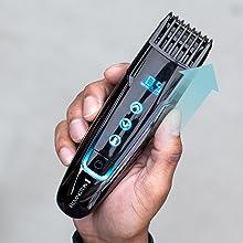 motorized comb adjustable length settings