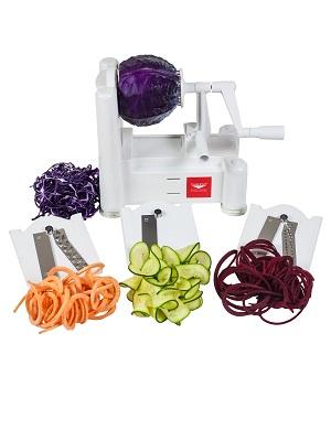 World Cuisine, Paderno, Slicer, Vegetable Slicer, spiralizer, Zoodles, Vegetable Noodles, Spiralize