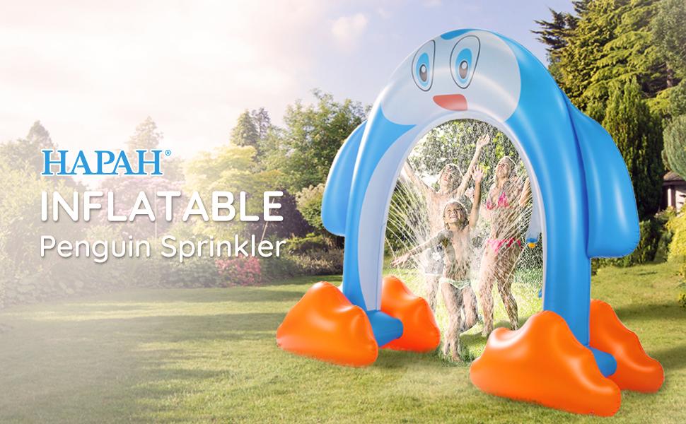 inflatable water sprinkler