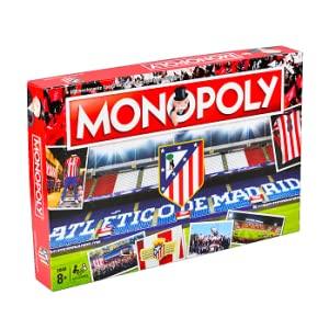 Winning Moves Monopoly Atletico Madrid (10230), Multicolor: Amazon.es: Juguetes y juegos