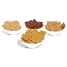 organic gourmet flax and power crackers, raw, vegan, dehydrated, kosher, gluten free