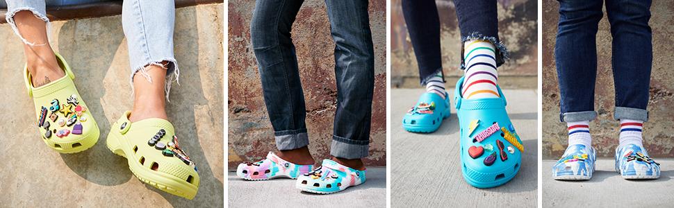 comfort, beautiful, classic clog, crocs, summer, colors, colorful, comfortable, shoes, unisex