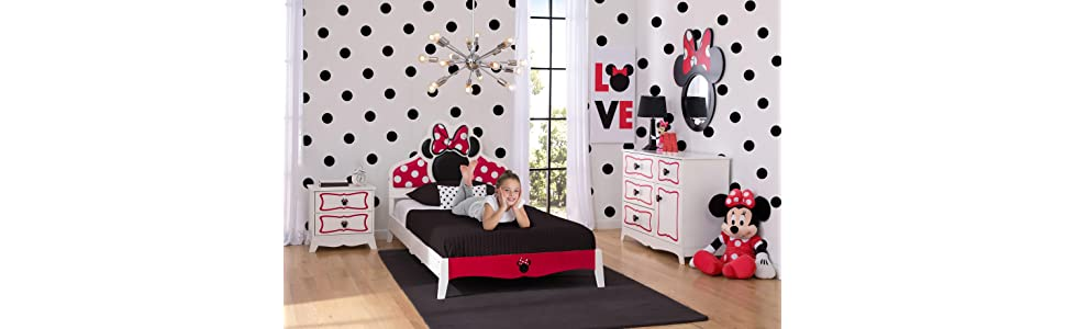 Superb Minnie Mouse Twin Bedroom Collection