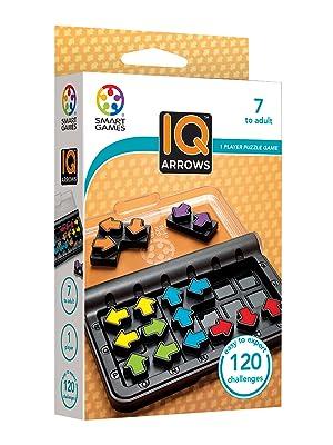 Smart Games IQ Arrows, Juego educativos, Juegos de Mesa para niños, Rompecabezas, Puzzle educa, Puzzles Infantiles, Juego de Viaje: Amazon.es: Juguetes y juegos